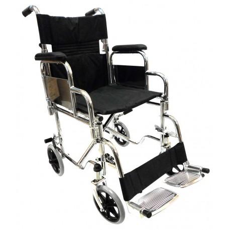 silla de ruedas respaldo plegable